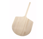 "Winco WPP-2042 42"" Wooden Pizza Peel, 20 x 21"" Blade"