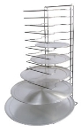 Winco APZT-1015 15-Slot Pizza Rack