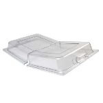 Winco C-DPFH Full Size Dome Hinged Cover, Polycarbonate