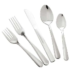 Winco 0002-05 Dinner Fork, Windsor, Medium Weight, 18/0 Stainless Steel