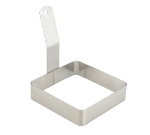 "Winco EGRS-44 4"" Square Egg Ring"