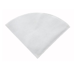 Winco FF-RC Cone Fryer Filter Paper, Flat Sheet