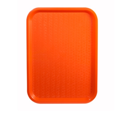 "Winco FFT-1216O Fast Food Tray, 12 x 16"", Orange"