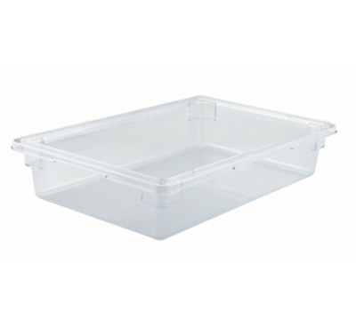 Winco PFSF-6 8-gallon Food Storage Box, 18 x 26 x 6-in, Polycarbonate, Clear