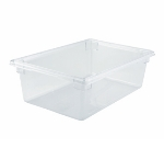 "Winco PFSF-9 13-gallon Food Storage Box, 18 x 26 x 9"", Polycarbonate, Clear"