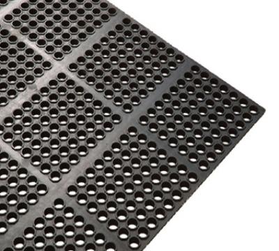 Winco RBMI-33K Rubber Floor Mat, Anti