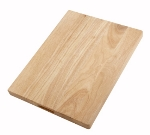 Winco WCB-1520 Wood Cutting Board, 15 x 20 x 1.75-in