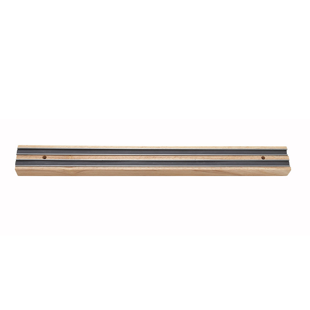 "Winco WMB-18 18"" Wooden Magnetic Bar"