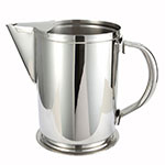 Winco WPG-64 64-oz Water Pitcher w/ Guard & Handle, Stainless