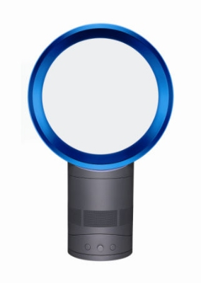 Dyson AM01 19005-01 10-in Dyson Air Multiplier Non Blade Room Fan, Blue