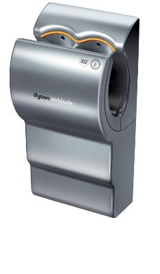 dyson ab02 dyson airblade automatic hand dryer quick efficient hygienic aluminum 208 v. Black Bedroom Furniture Sets. Home Design Ideas