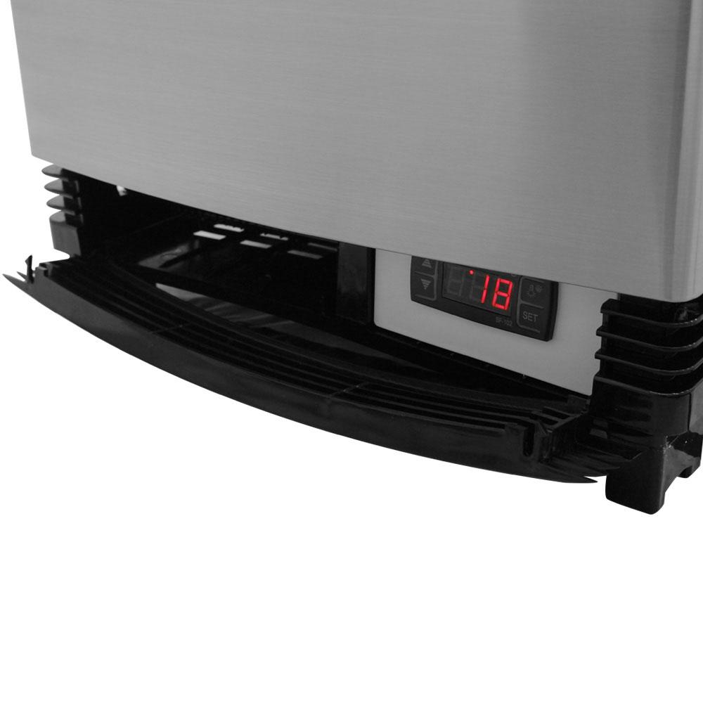 "Turbo Air CRT-77-2R 17"" Countertop Refrigerator w/ Pass Thru Access - Swing Door, Stainless, 115v"