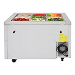 Turbo Air JBT-48 2-Section Refrigerated Buffet Table w/ Swing Doors, 10.9-cu ft