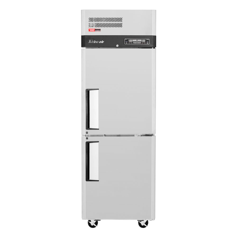 """Turbo Air M3RF19-2-N 26"""" One Section Commercial Refrigerator Freezer - Solid Doors, Top Compressor, 115v"""