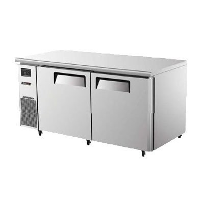 Turbo Air JUF-60 15-cu ft Undercounter Freezer w/ (2) Sections & (2) Doors, 115v