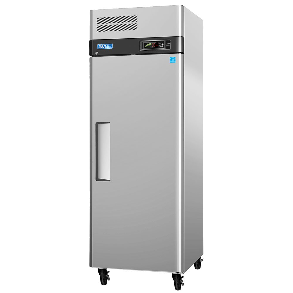 """Turbo Air M3F19-1 25.5"""" Single Section Reach-In Freezer, (1) Solid Door, 115v"""