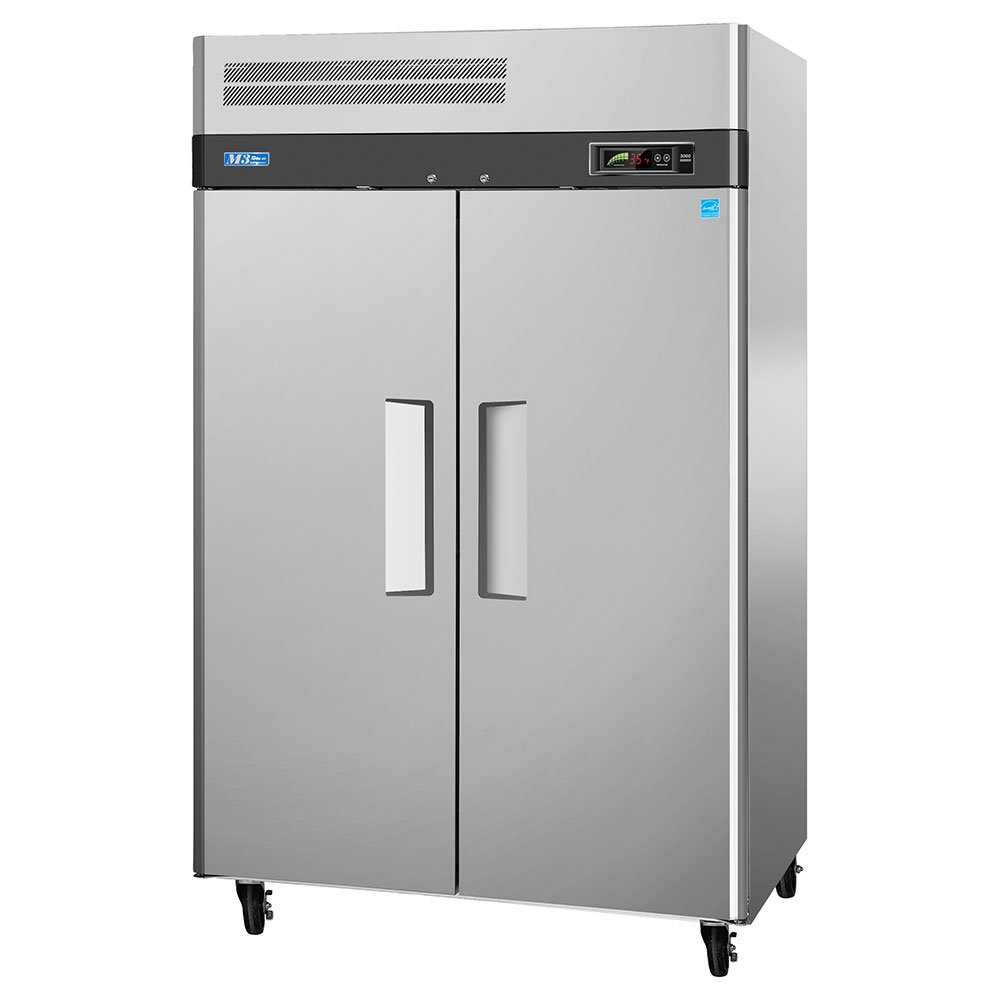 "Turbo Air M3F47-2 51.75"" Two Section Reach-In Freezer, (2) Solid Doors, 115v"