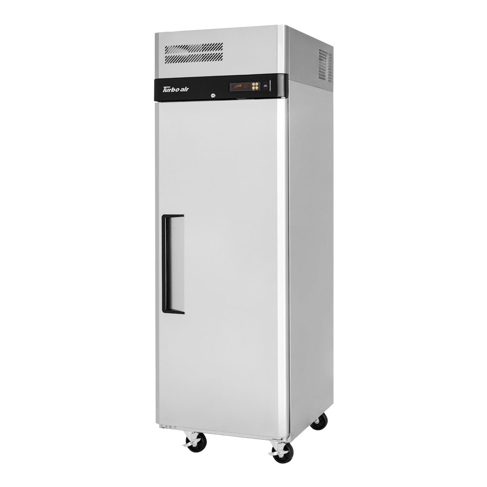 """Turbo Air M3R19-1 25"""" Single Section Reach-In Refrigerator w/ (1) Solid Door, 115v"""