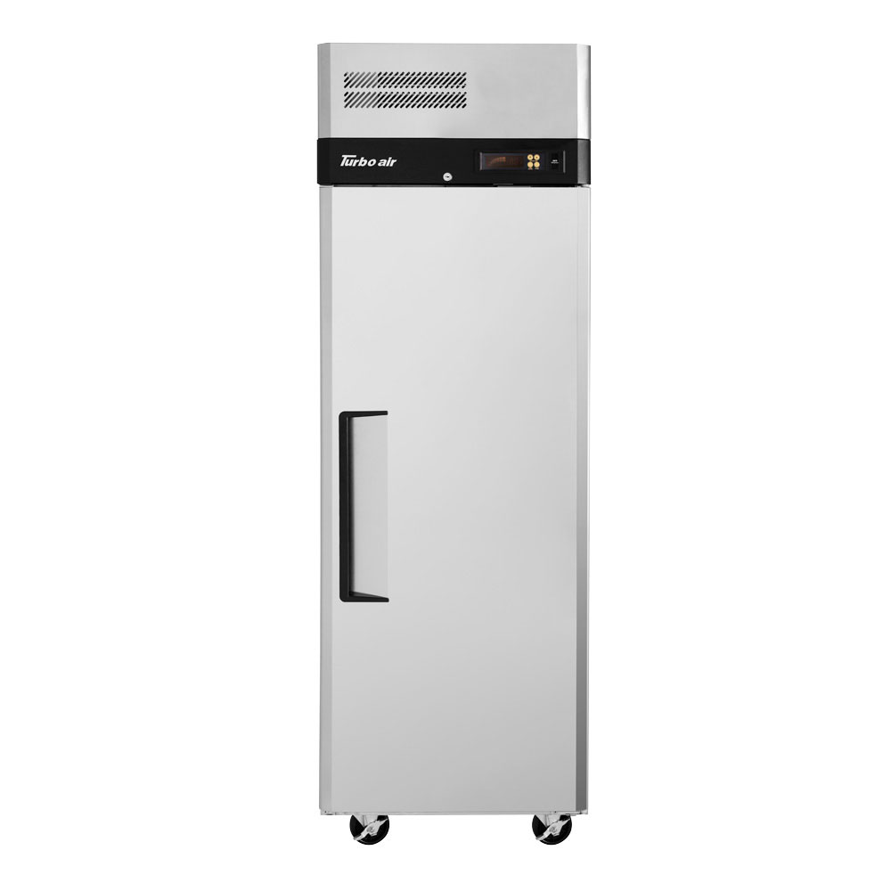 "Turbo Air M3R24-1 28.75"" Single Section Reach-In Refrigerator, (1) Solid Door, 115v"