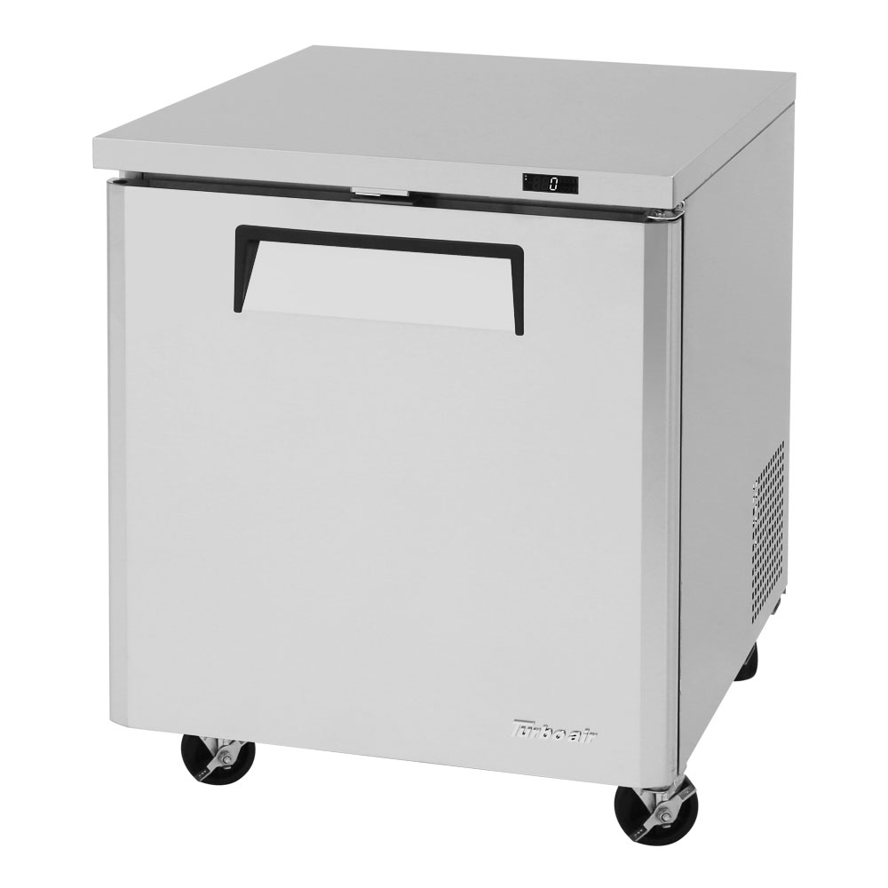 Turbo Air MUF-28 7-cu ft Undercounter Freezer w/ (1) Section & (1) Door, 115v