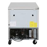Turbo Air MUR-28 7-cu ft Undercounter Refrigerator w/ (1) Section & (1) Door, 115v