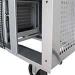 Turbo Air MUR-36 9.5-cu ft Undercounter Refrigerator w/ (2) Sections & (2) Doors, 115v