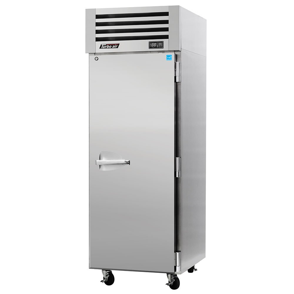 "Turbo Air PRO-26R 28.75"" Single Section Reach-In Refrigerator, (1) Solid Doors, 115v"