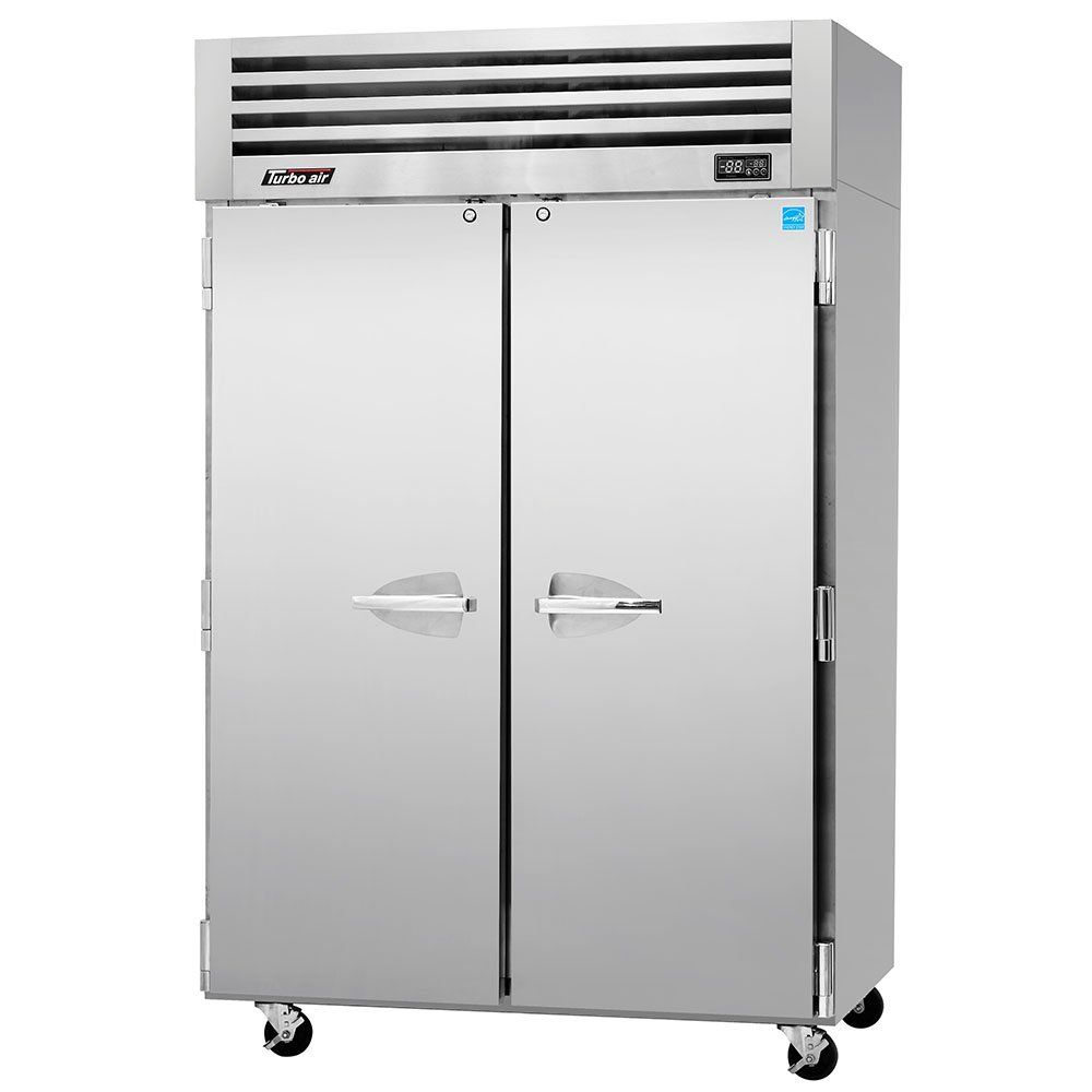 "Turbo Air PRO-50F 51.75"" Two Section Reach-In Freezer, (2) Solid Doors, 115v"