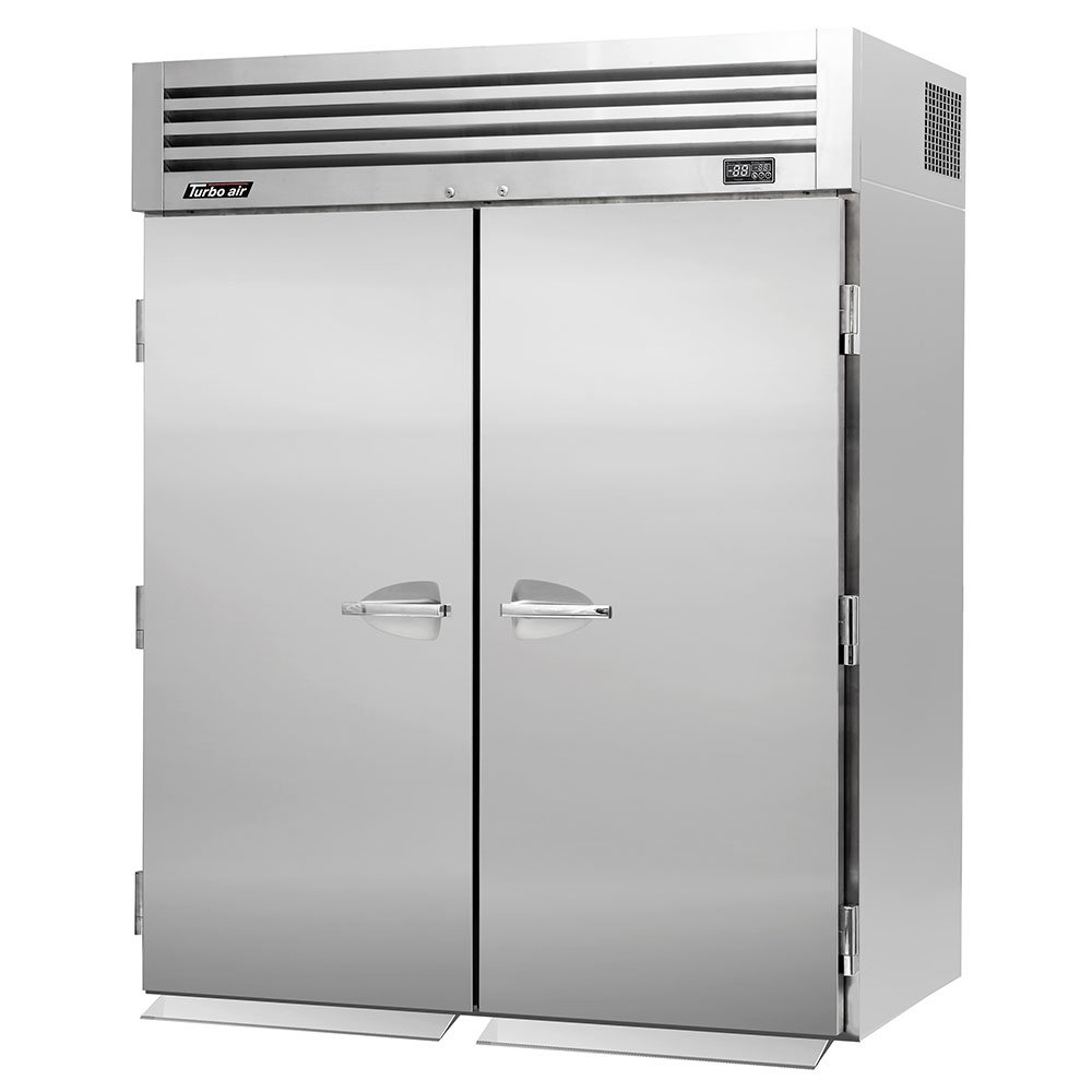 "Turbo Air PRO-50F-RI 67"" Two Section Roll-In Freezer, (2) Solid Doors, 115v"
