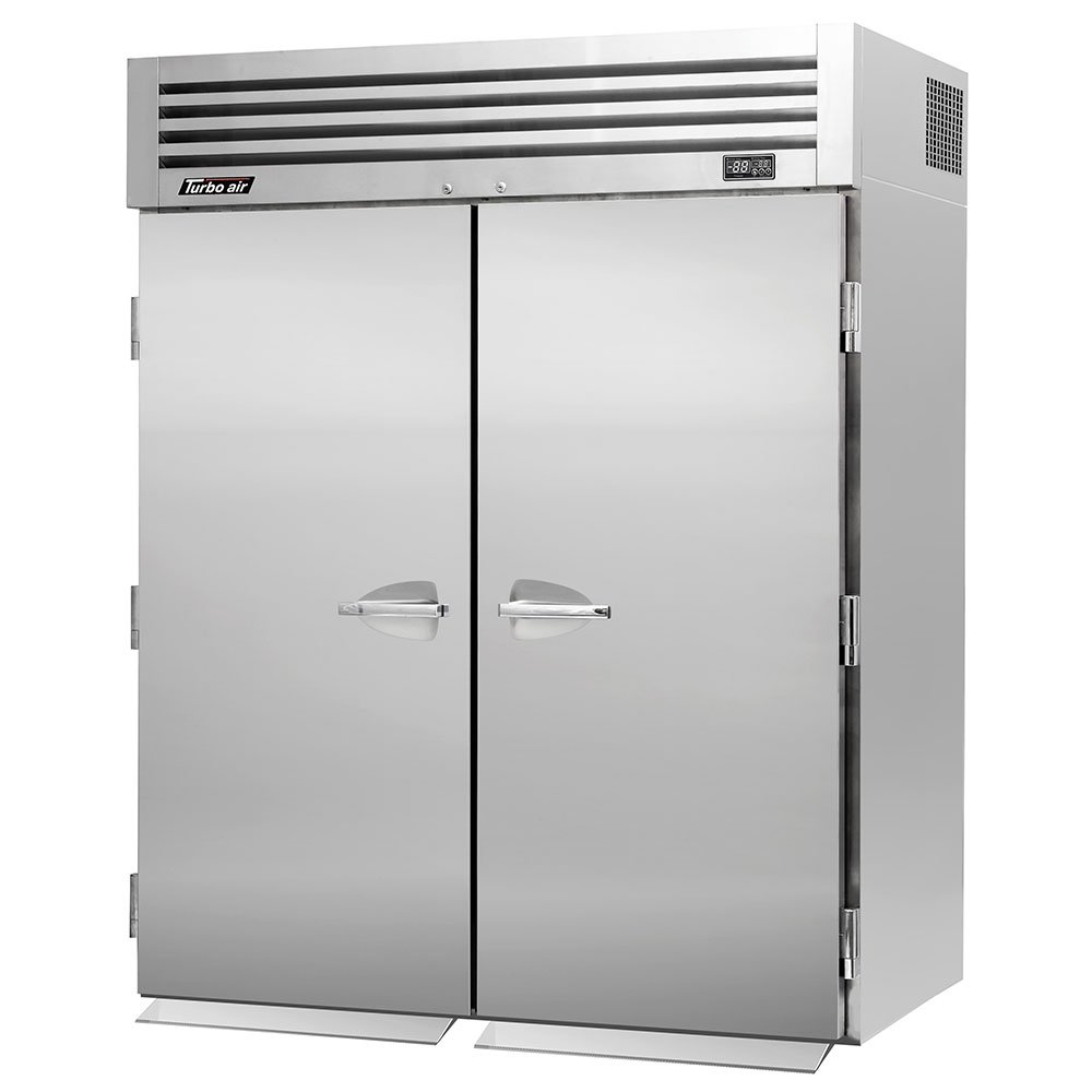 "Turbo Air PRO-50R-RI 67"" Two Section Roll-In Refrigerator, (2) Solid Doors, 115v"