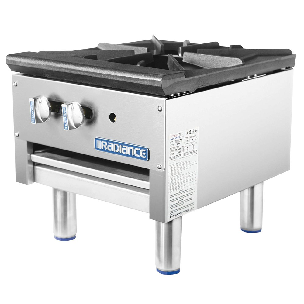 Turbo Air TASP-18S 1-Burner Stock Pot Range, NG