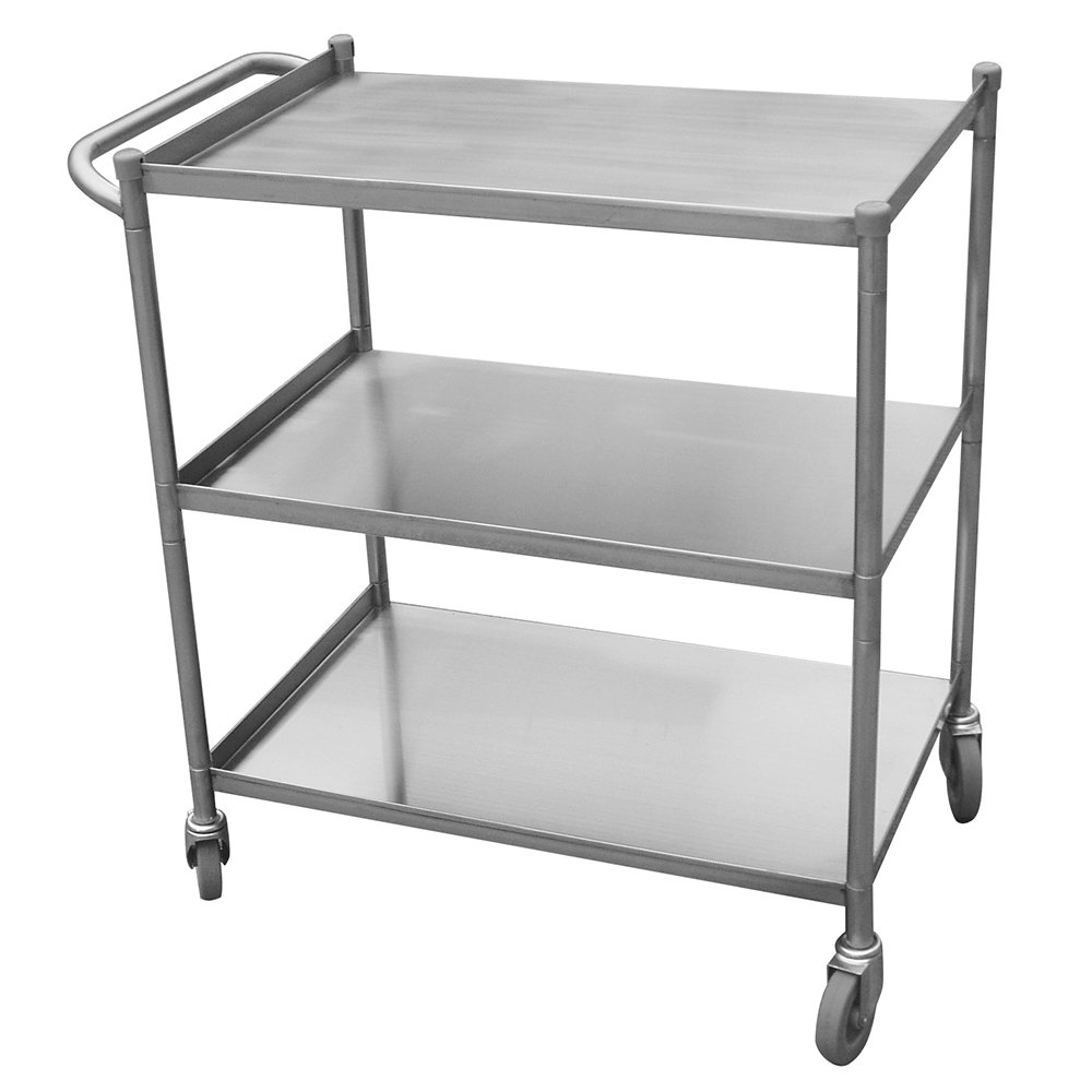 Turbo Air TBUS-1524 Stainless Steel Utility Cart, 15 x 24""