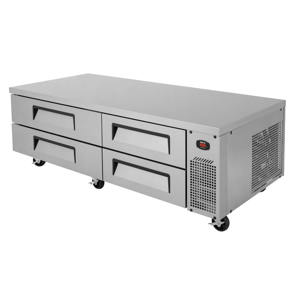 "Turbo Air TCBE-82SDR 82 "" Chef Base w/ (4) Drawers - 115v"
