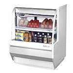 "Turbo Air TCDD-36-2-L 36.5"" Full Service Deli Case w/ Curved Glass - (2) Levels, 115v"