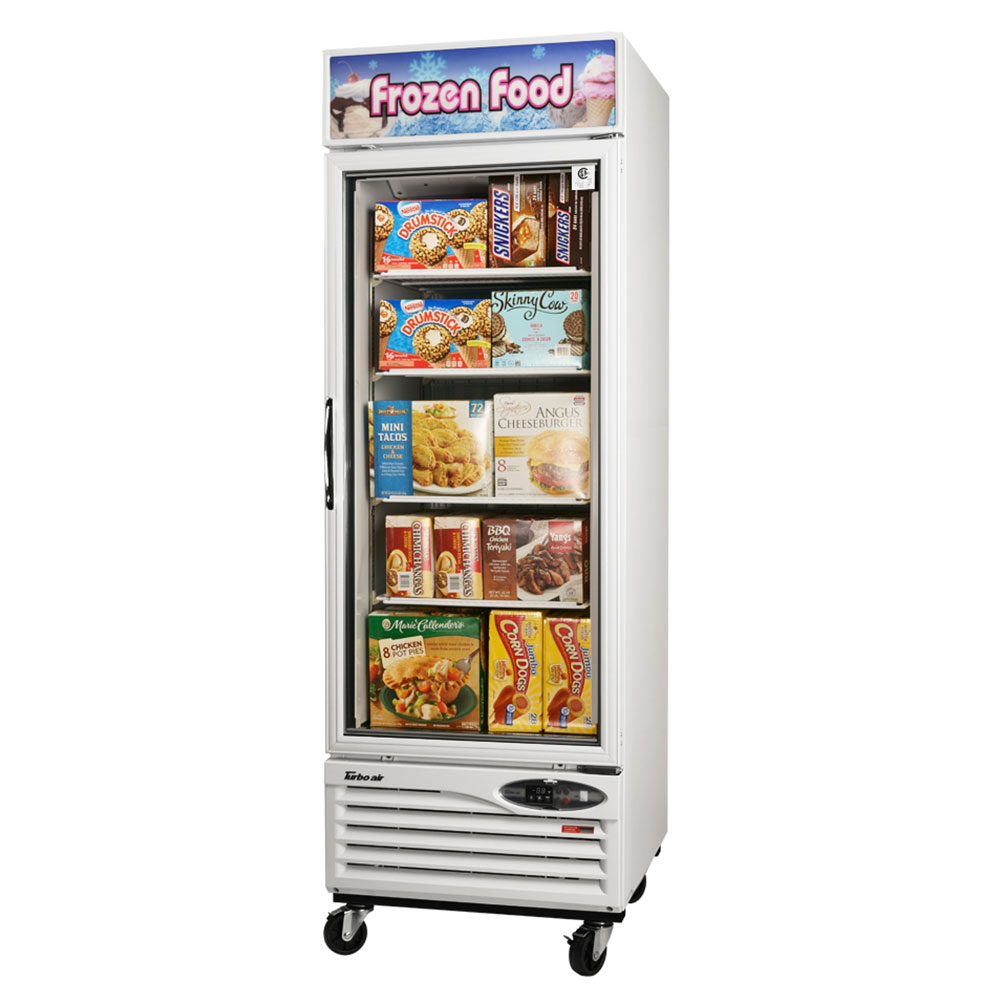 Turbo Air TGF-23F 27 One-Section Display Freezer w/ Swing...