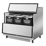 Turbo Air TMKC-49S-SS Milk Cooler w/ Top & Side Access - (768) Half Pint Carton Capacity, 115v