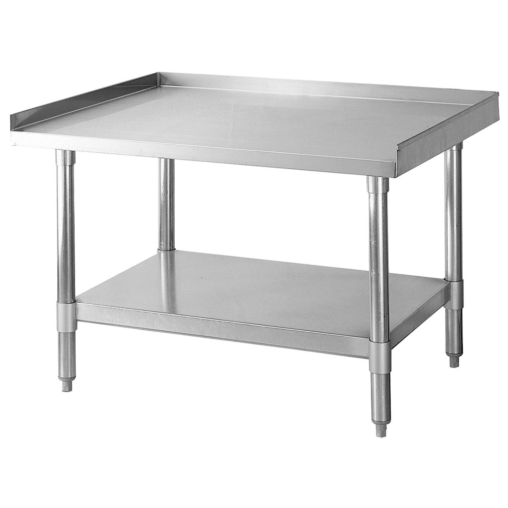 "Turbo Air TSE3024 30x24"" Equipment Stand w/ Stainless Top, Galvenized Legs & Undershelf"