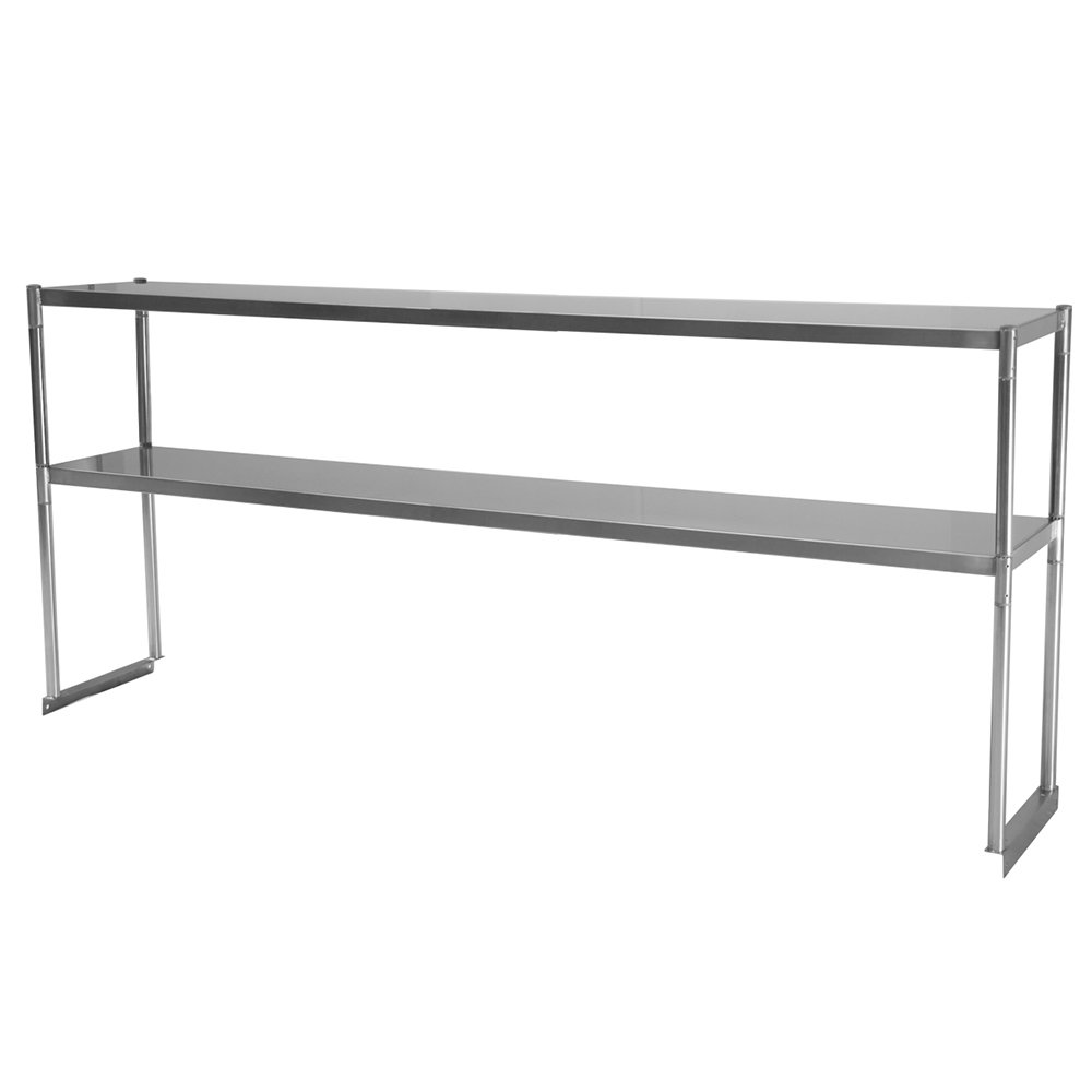 Turbo Air TSOS-6R 6-Ft Stainless Steel Over Shelf For U / C
