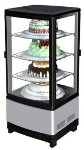 "Turbo Air CRT-77-2R 17"" Countertop Refrigerator w/ Pass Thru Access - Swing Door, Stainless, 115v"