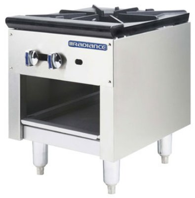 Turbo Air TASP-18 LP 1-Burner Stock Pot Range, LP