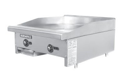 TATG-24 24-in Griddle w/ 1-in Steel Plate Thermostatic Controls NG Restaurant Supply