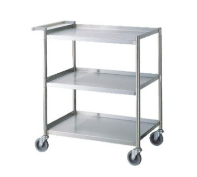 Turbo Air TBUS-2133 Stainless Steel Utility Cart, 21 x 33-in