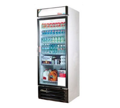 "Turbo Air TGM-14RV 24"" One-Section Refrigerated Display w/ Swing Door, Bottom Mount Compressor, 115v"
