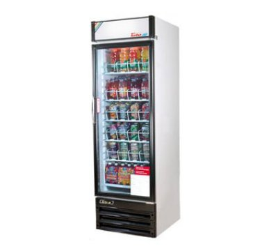 "Turbo Air TGM-22RV 29"" One-Section Refrigerated Display w/ Swing Door, Bottom Mount Compressor,115v"