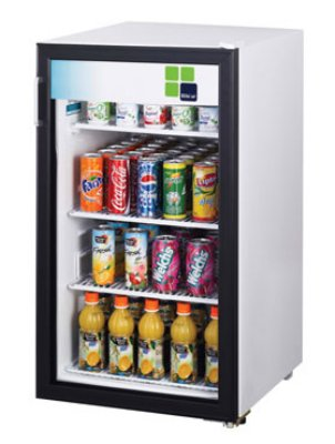 "Turbo Air TGM-5R 19"" Countertop Refrigerator w/ Front Access - Swing Door, White, 115v"
