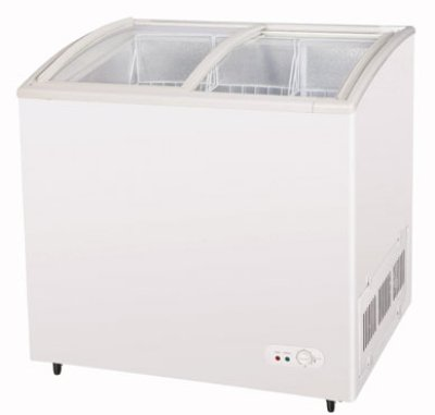 "Turbo Air TSD-35CF 35.25"" Mobile Ice Cream Freezer w/ 2-Baskets, 115v"