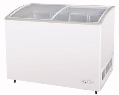"Turbo Air TSD-47CF 47.75"" Mobile Ice Cream Freezer w/ 3-Baskets, 115v"