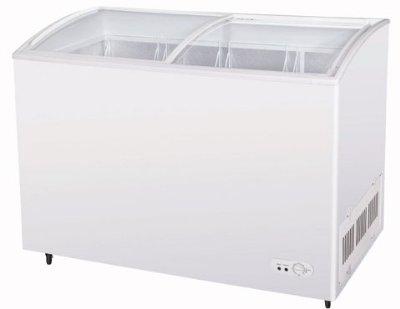TSD-60CF Ice Cream Merchandising Case Glass Slide Lids 11.2-cu ft White Restaurant Supply