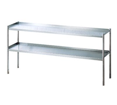 Turbo Air TSOS-4 4-Ft Stainless Steel Over Shelf
