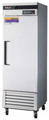 "Turbo Air TSF-23SD 27"" One Section Reach-In Freezer, (1) Solid Door, 115v"